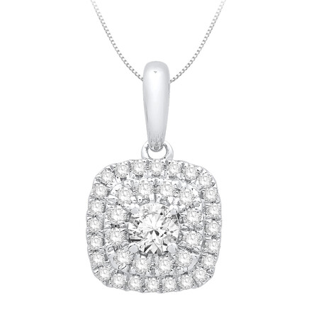 Pendant with 0.34 Carat TW of Diamonds in 10kt Yellow Gold