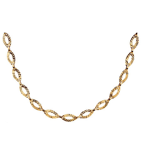 """45cm (18"""") Necklace in 10kt Yellow Gold"""