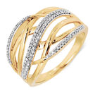 Ring with 0.20 Carat TW of Diamonds in 10kt Yellow Gold