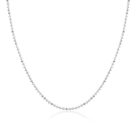 """40cm (16"""") Chain in Sterling Silver"""