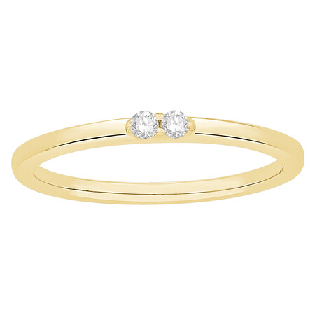 Stacker Ring in 10kt Yellow Gold