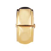 10kt Yellow Gold Patterned Stopper