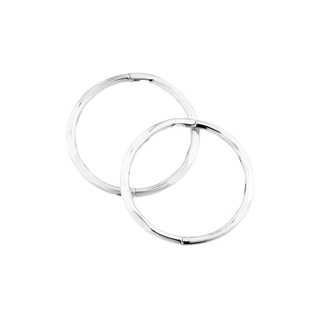 16mm Sleepers in Sterling Silver
