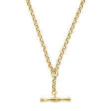 "45cm (18"") Hollow Rolo Chain in 10kt Yellow Gold"