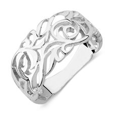 Filigree Ring in Sterling Silver
