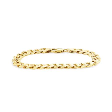 "23cm (9"") Bracelet in 10kt Yellow Gold"