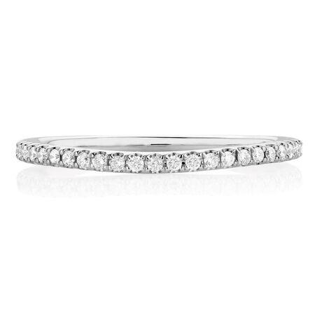 Sir Michael Hill Designer GrandAllegro Wedding Band with 1/4 Carat TW of Diamonds in 14kt White Gold