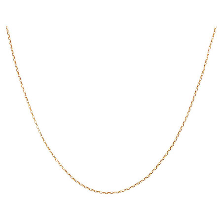 """40cm (16"""") Hollow Rolo Chain in 10kt Yellow Gold"""