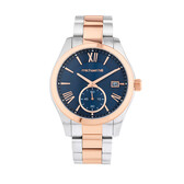 Watch in Rose Tone & Stainless Steel