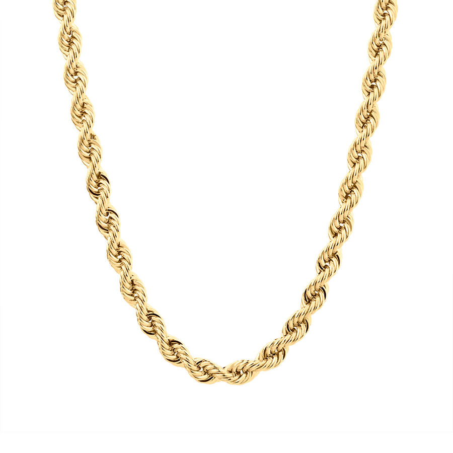"60cm (24"") Rope Chain in 10kt Yellow Gold"