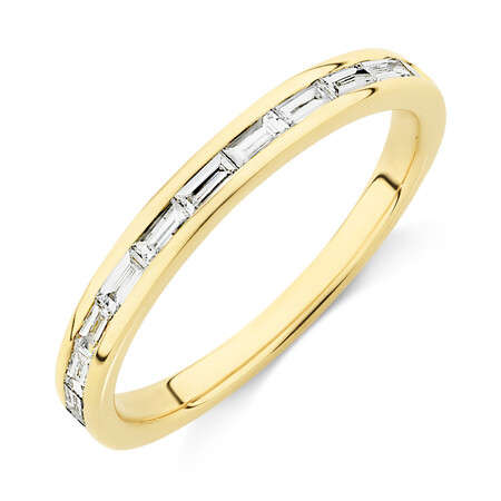 Evermore Wedding Band with 0.34 Carat TW of Diamonds in 14kt Yellow Gold