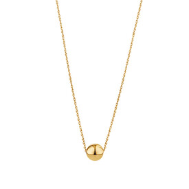 """45cm (18"""") 8mm Ball Necklace in 10kt Yellow Gold"""