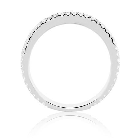 Sir Michael Hill Designer GrandAria Wedding Band with 0.31 Carat TW of Diamonds in 14kt White Gold