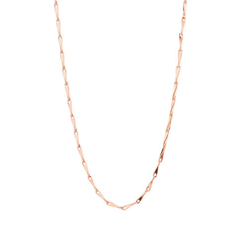 "45cm (18"") Infinity Chain in 10kt Rose Gold"