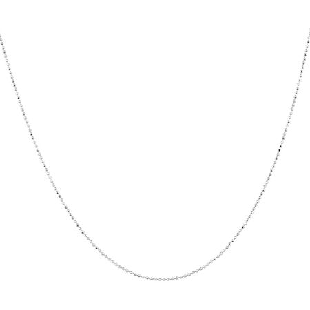 """45cm (18"""") Chain in Sterling Silver"""