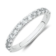 4a6033f4f Evermore Wedding Band with 3/4 Carat TW Diamonds in 14kt White Gold ...