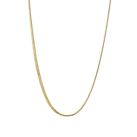 """45cm (18"""") Snake Chain in 10kt Yellow Gold"""
