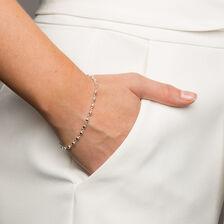 """19cm (7.5"""") Fancy Bracelet in Sterling Silver"""