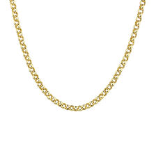 "55cm (22"") Hollow Rolo Chain in 10kt Yellow Gold"