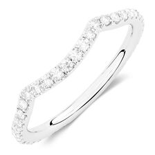 Sir Michael Hill Designer GrandAdagio Wedding Band with 0.39 Carat TW of Diamonds in 14kt White Gold