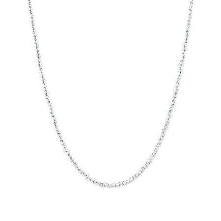 """30cm (12"""") Adjustable Chain in Sterling Silver"""