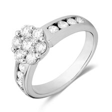 Online Exclusive - Engagement Ring with 1 Carat TW of Diamonds in 18kt White Gold