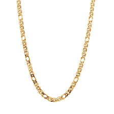 "45cm (18"") Double Oval Curb Chain in 10kt Yellow Gold"