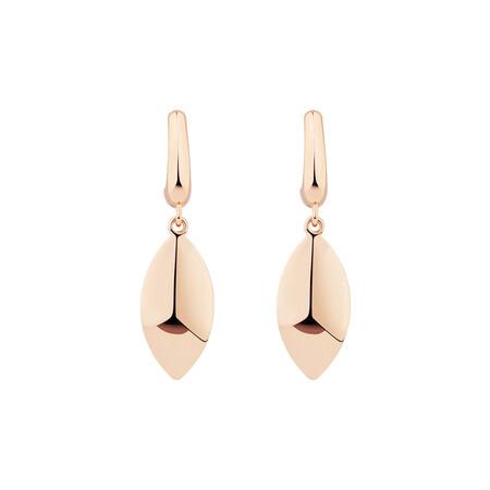 Drop Stud Earrings in 10kt Rose Gold