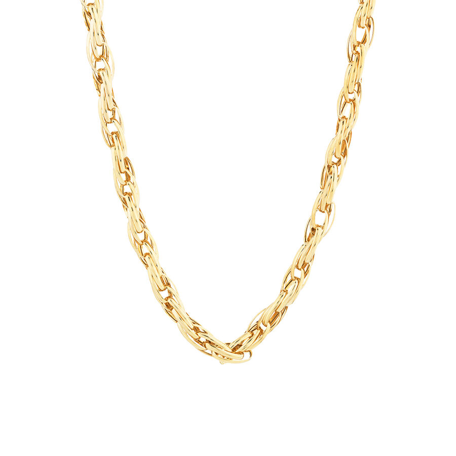 "45cm (18"") Fancy Chain in 10kt Yellow Gold"