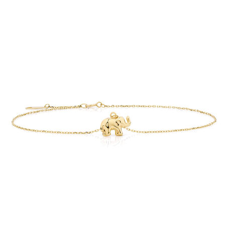 "27cm (11"") Anklet in 10kt Yellow Gold"