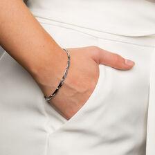 """19cm (7.5"""") Bracelet in 10kt White Gold"""