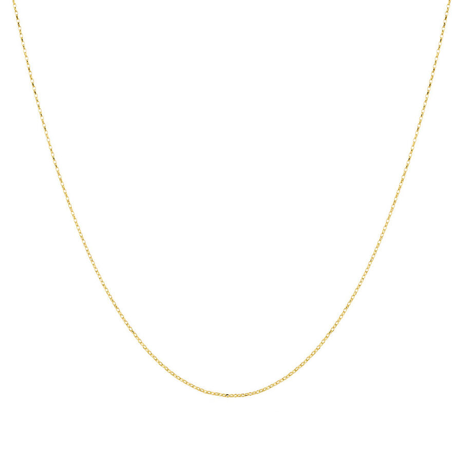 """60cm (24"""") Rolo Chain in 10kt Yellow Gold"""
