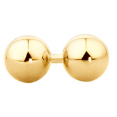 5mm Ball Stud Earrings in 10kt Yellow Gold