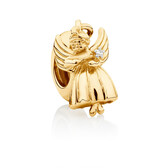 Angel Dangle Charm in 10kt Yellow Gold