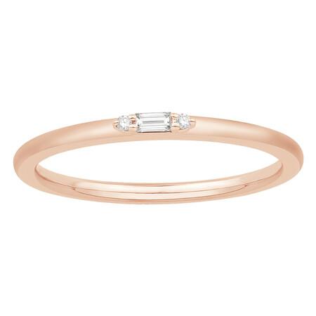 Stacker Ring in 10kt Rose Gold