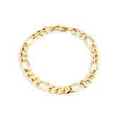 Figaro Bracelet in 10ct Yellow Gold