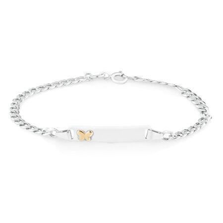 "16cm (6"") Child's ID Bracelet in Sterling Silver"