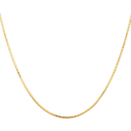 "45cm (18"") Snake Chain in 10kt Yellow Gold"