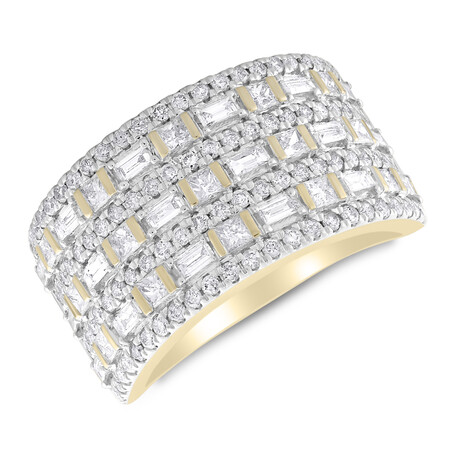 Ring with 1.50 Carat TW of Diamonds in 14kt Yellow Gold
