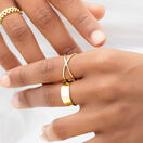 Geometric Ring in 10kt Yellow Gold