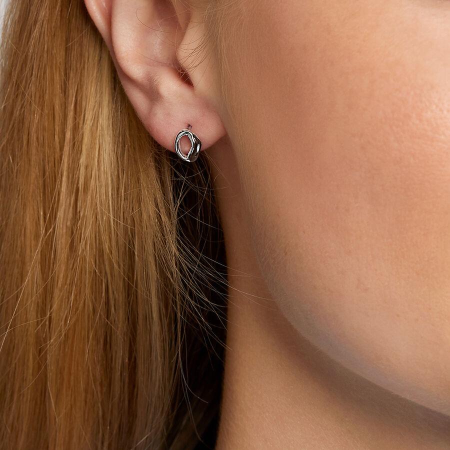Spirits Bay Mini Stud Earrings in Sterling Silver
