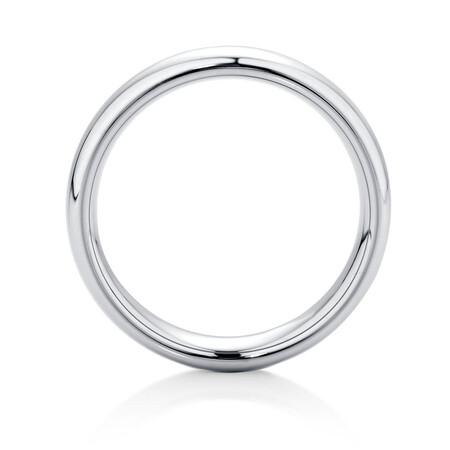 Men's Ring in Grey Sapphire Tungsten