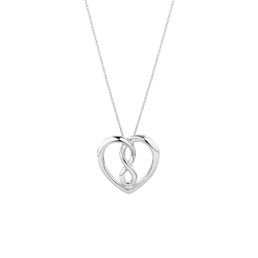 Medium Infinitas Pendant in Sterling Silver