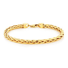 "Online Exclusive - 19cm (7.5"") Rope Bracelet in 10kt Yellow Gold"