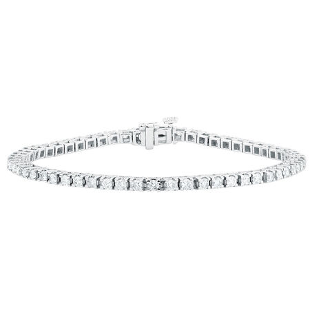 Tennis Bracelet with 2 Carat TW of Diamonds in 18kt White Gold