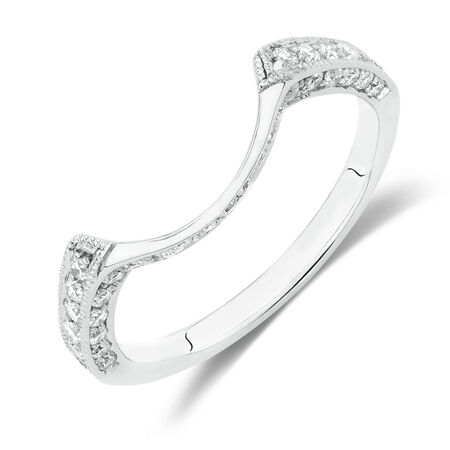 Online Exclusive - Wedding Band with 0.30 Carat TW of Diamonds in 10kt White Gold
