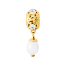 10kt Yellow Gold & Cultured Freshwater Pearl Charm
