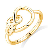 Knots Ring in 10kt Yellow Gold