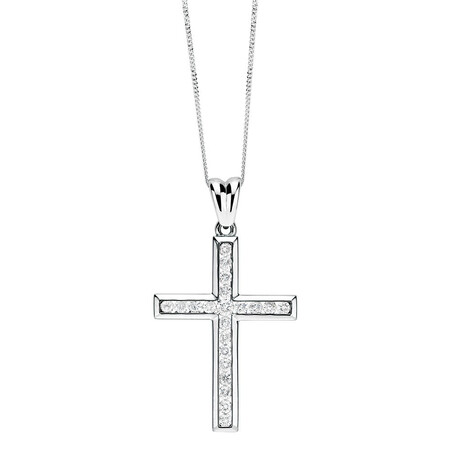 Pendant with 1/2 Carat TW of Diamonds in 10kt White Gold