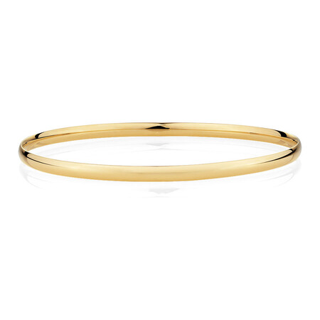 Bangle in 10kt Yellow Gold